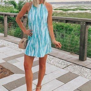 Tyche Dresses - Tye dye print dress